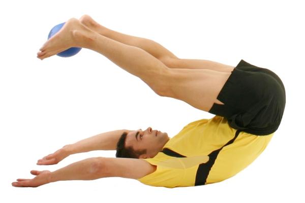 rücken gymnastik für beinscheibe