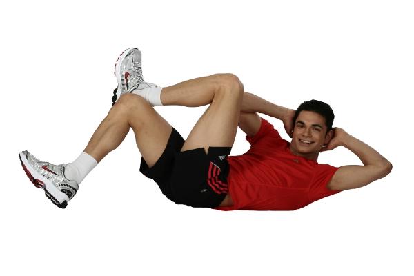 eine dynamische sport übung