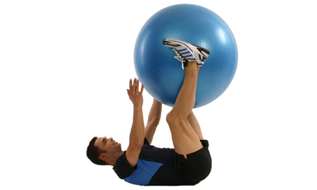 Gymnastikball Video Fitness Übungen