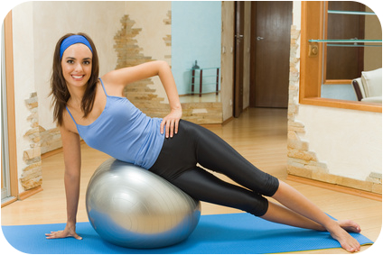 Personaltraining Fitness zu Hause